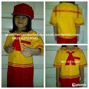 GROSIRAN ONLINE seragam sekolah murah TK - Paud SURABAYA INDONESIA 0821.4272.0542