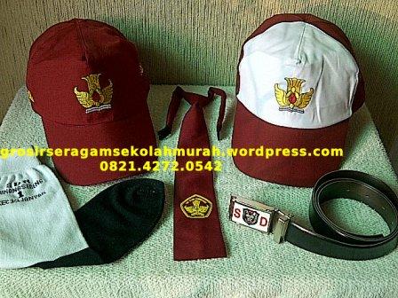 PENGADAAN TENDER seragam sekolah dasi dan topi SD